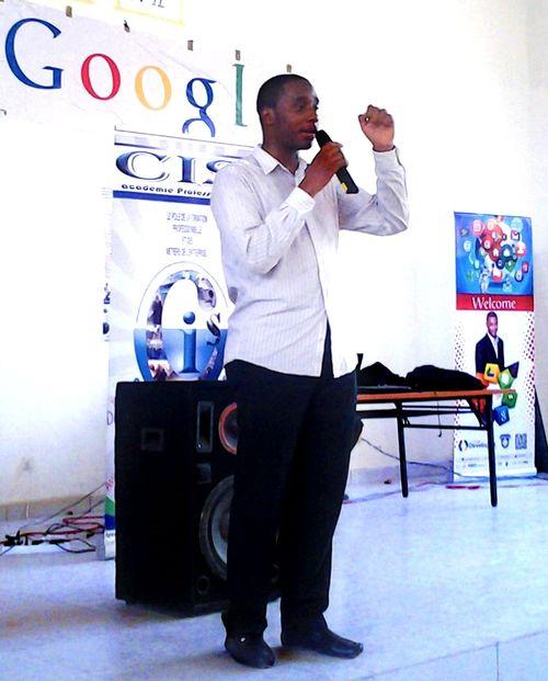 Olivier Madiba au GDG Cameroun