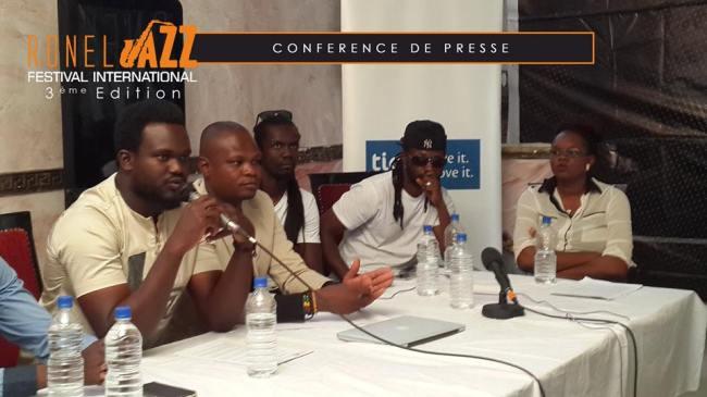 Conférence de presse Ronel Jazz